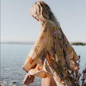 Wild bloom kimono for swap only